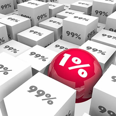 Watch Out for the One Percent