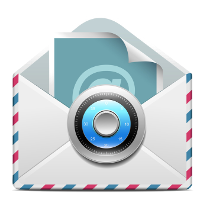 envelope with a security lock